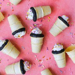 Mini Cupcake Cones – Healthyish Foods