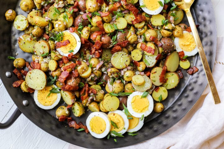 Honey Mustard Potato Salad – Healthyish Foods