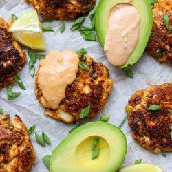 Spicy Crab Cakes – Healthyish Foods