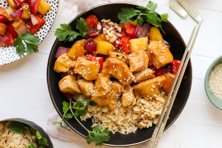 Easy Sweet and Sour Chicken – Healthyish Foods