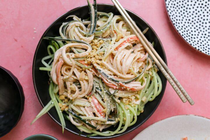 Spicy Kani Cucumber Salad – Healthyish Foods