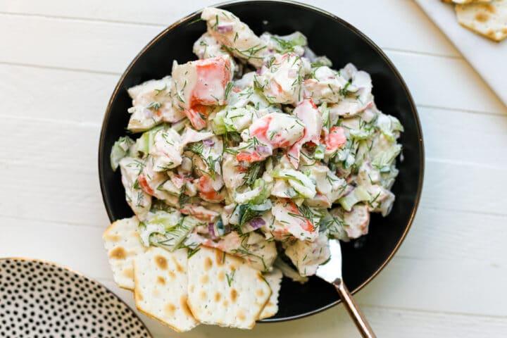 Creamy Crab Salad – Healthyish Foods