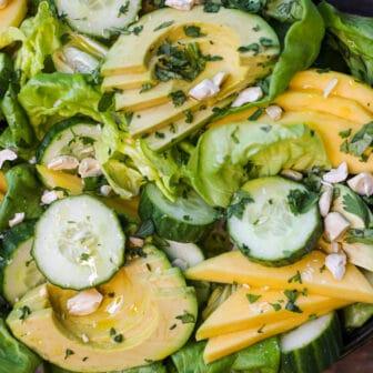 Easy Cucumber Mango Salad – Healthyish Foods
