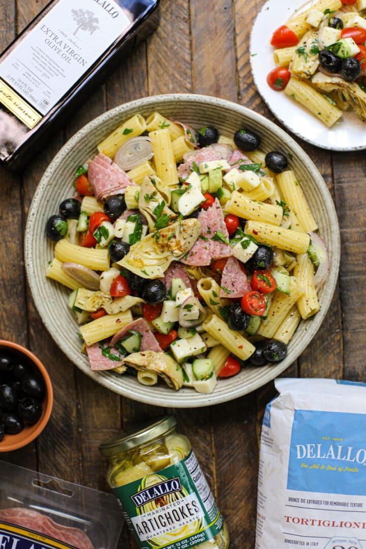 Easy Italian Pasta Salad – Healthyish Foods