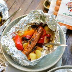 Quick Chicken Sausage Foil Packets – Healthyish Foods