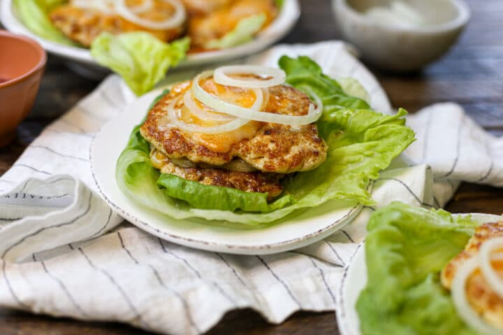 Cheddar Chicken Smash Burgers – Healthyish Foods