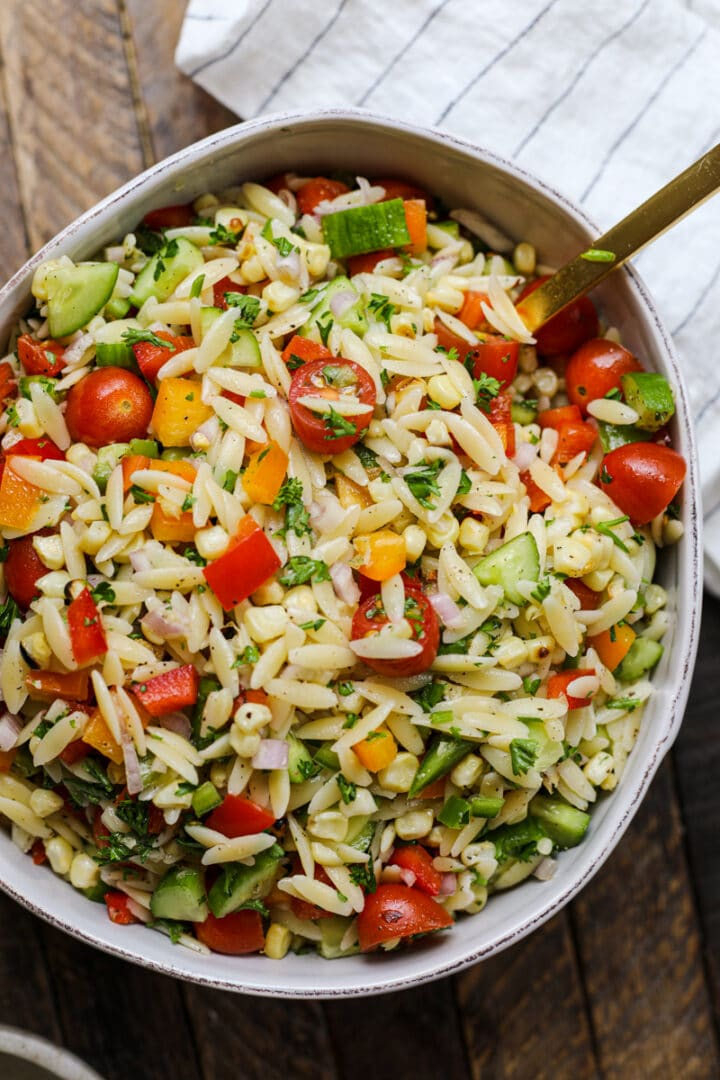Simple Summer Pasta Salad – Healthyish Foods