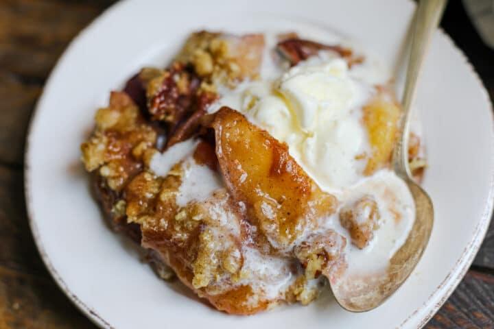 Peach Crisp – Healthyish Foods