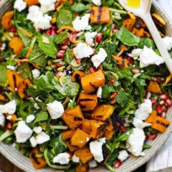 Grilled Butternut Squash Salad – Healthyish Foods