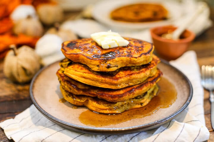 Pumpkin Chocolate Chip Pancakes – Healthyish