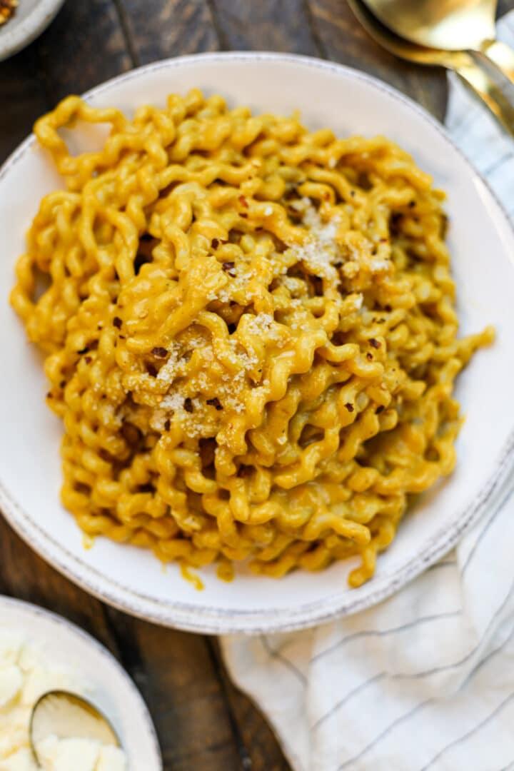 Creamy Pumpkin Pasta Sauce – Healthyish Foods
