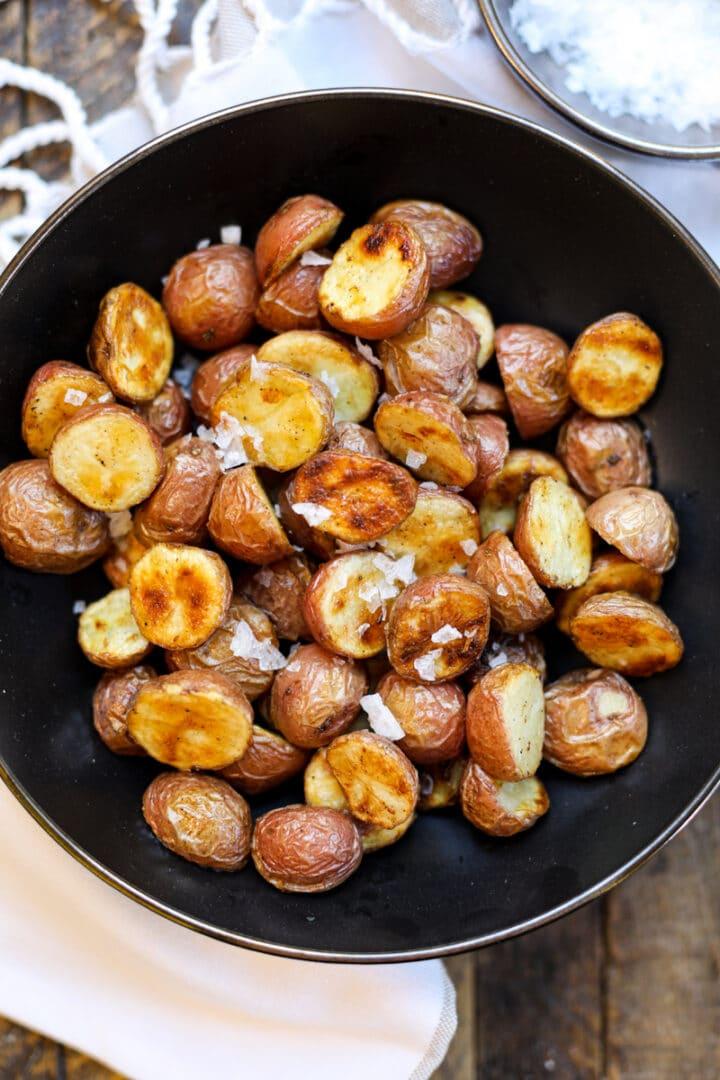 Salt and Vinegar Roasted Potatoes – Healthyish Foods