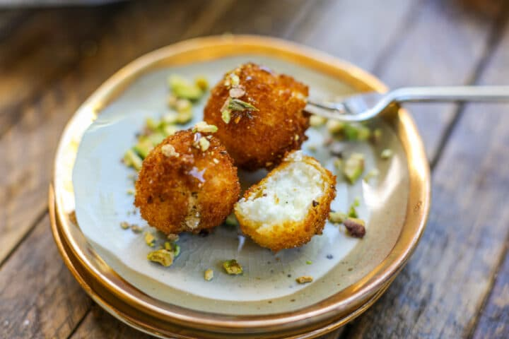 Fried Goat Cheese Balls – Healthyish Foods