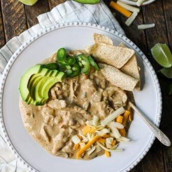white chicken chili - healthyish foods